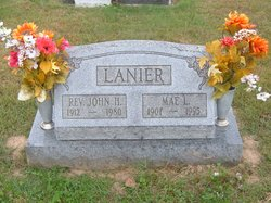 Rev John H Lanier (1912-1980) - Find A Grave Memorial