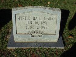 Myrtle <I>Hall</I> Mabry