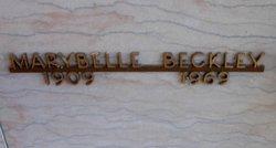 Marybelle <I>Rockwell</I> Beckley