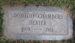 """Dorothy """"Dotsy"""" <I>Chambers</I> Dexter"""