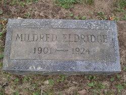 Mildred E. <I>Day</I> Eldridge