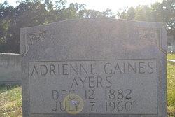 "Adrienne Audrey ""Addie"" <I>Gaines</I> Ayers"