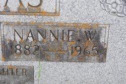 """Nancy """"Nannie"""" <I>Witt</I> Thomas"""