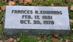 Frances Rebecca <I>Schrock</I> Edwards