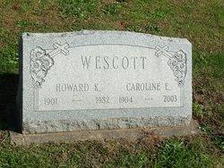 Mrs Caroline E. <I>Swartwood</I> Wescott