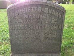 Harriett Barnard <I>McQuade</I> Brown