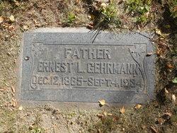 Ernest Louis Gehrmann