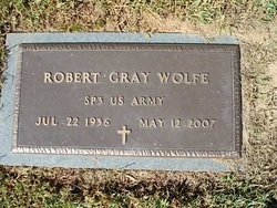 Rev Robert Gray Wolfe