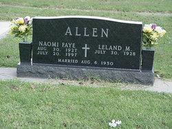Naomi Faye <I>McAlister</I> Allen