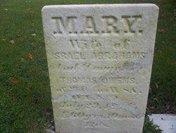 Mary <I>Owens</I> Abrahams