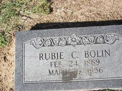Rubie Cleon <I>Pittman</I> Bolin