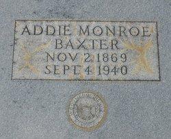 Addie Monroe Baxter