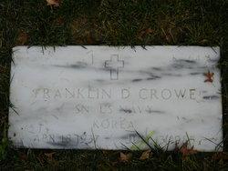 Franklin D Crowe