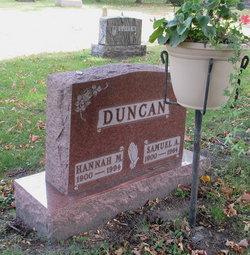 Hannah Malvina <I>Beckman</I> Duncan