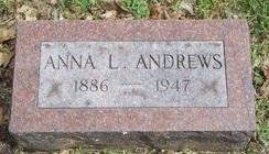 Anna L. <I>Laydon</I> Andrews