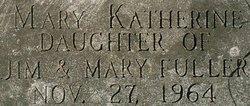 Mary Katherine Fuller