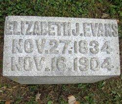 Elizabeth J <I>Hendricks</I> Evans