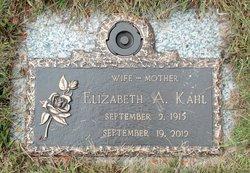 Elizabeth Amelia <I>Melka</I> Kahl