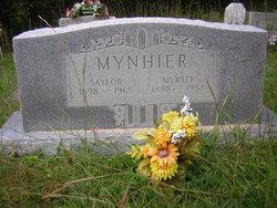 "Myrtle ""myrtie"" <I>gordon</I> Mynhier"