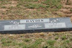 Jessie D'Esther <I>Black</I> Hayden