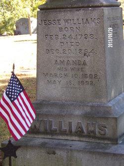 Amanda <I>Wells</I> Williams