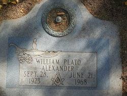 William Plato Alexander