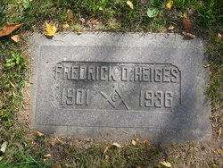 Frederick D Heiges