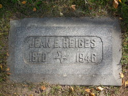 Jean E Heiges