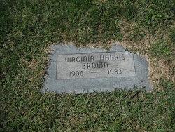 Virginia <I>Harris</I> Brown