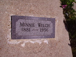 Minnie Florence <I>Shepherd</I> Welch