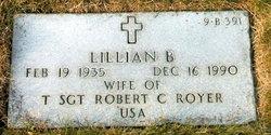 Lillian Bernetta Rose <I>Peffley</I> Royer