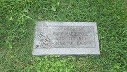 Mary Marie <I>Draemer</I> Boyd