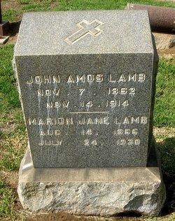 John Amos Lamb