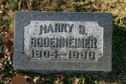Harry S Bodenheimer
