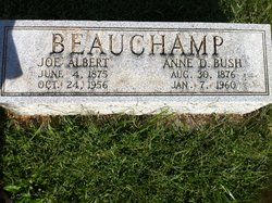 Anna Dunnington <I>Bush</I> Beauchamp