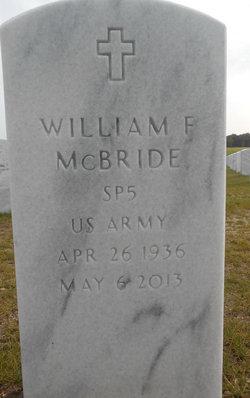 William F McBride