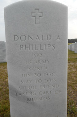 Donald A Phillips