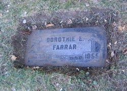 Dorothie E Farrar