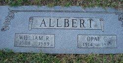 "Opal Christine ""Chris"" <I>Combs</I> Allbert"