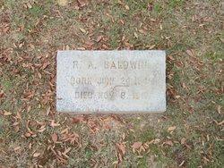 Robert Archer Baldwin