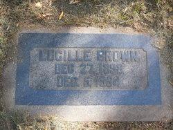 Lucille <I>Phillips</I> Brown