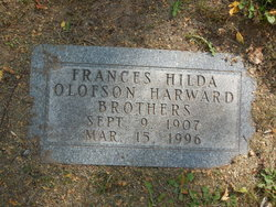 Frances Hilda <I>Olofson Harward</I> Brothers