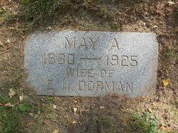 May Adam <I>Davis</I> Dorman