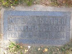 Bertha Winifred <I>Freeman</I> Hesser