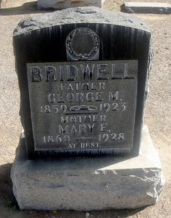 Mary E. <I>Tice</I> Bridwell