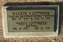 Warren A Coppinger