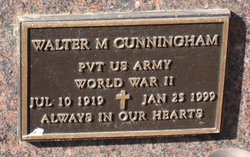 Walter M Cunningham