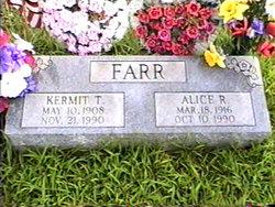 Alice Rachel Agnes <I>Davis</I> Farr