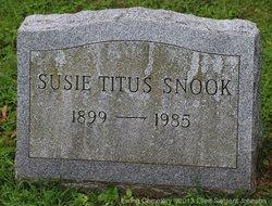 Susie Wells <I>Titus</I> Snook
