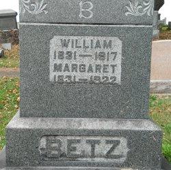 Margaretta M <I>Lutz</I> Betz